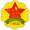 Pick of the county 2013 Winner badge